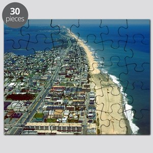 Aerial View of Ocean City Maryland Puzzle