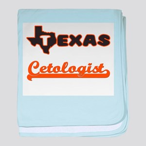 Texas Cetologist baby blanket