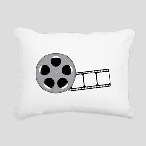 Film Reel Rectangular Canvas Pillow
