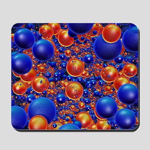 Shiny 3D balls Mousepad