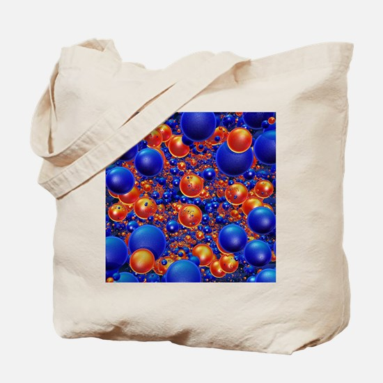 Shiny 3D balls Tote Bag