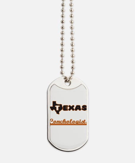 Texas Conchologist Dog Tags
