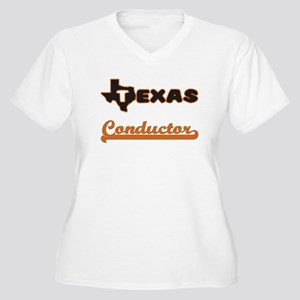 Texas Conductor Plus Size T-Shirt