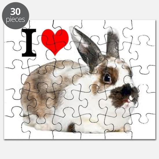 I heart Rabbits Puzzle