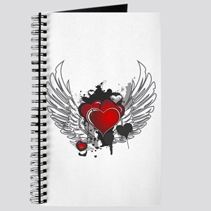 Winged hearts Journal