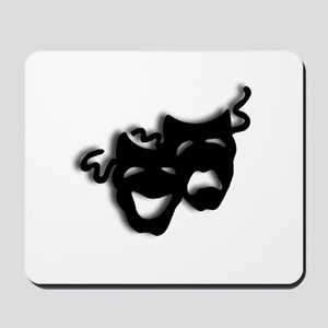 Comedy and Tragedy Theater Masks Mousepad