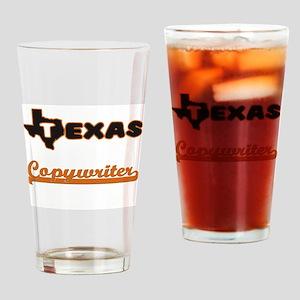 Texas Copywriter Drinking Glass