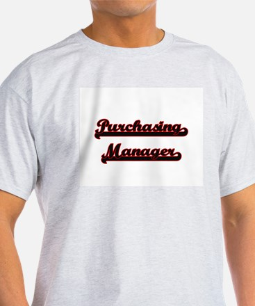 Purchasing Manager Classic Job Design T-Shirt