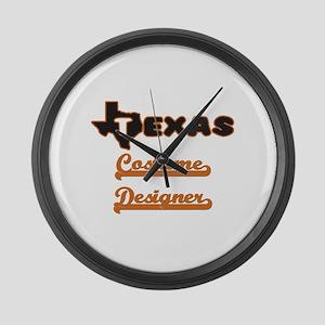 Texas Costume Designer Large Wall Clock
