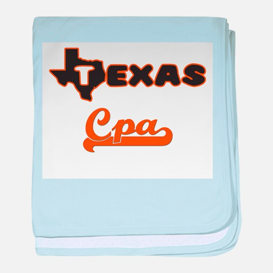 Texas Cpa baby blanket
