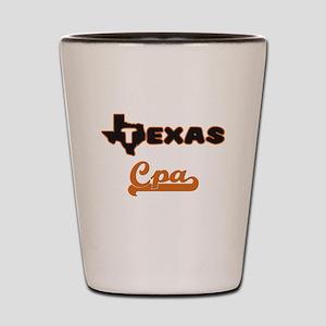 Texas Cpa Shot Glass
