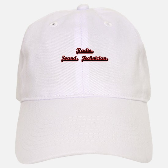 Radio Sound Technician Classic Job Design Baseball Baseball Cap