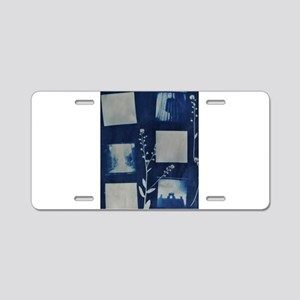 Holga Negative Cyanotype Aluminum License Plate