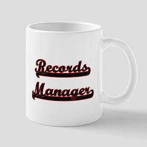 Records Manager Classic Job Design Mugs