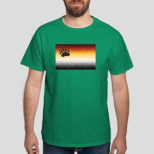 BEAR PRIDE FLAG FURRY LOOK Dark T-Shirt