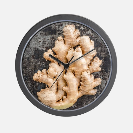 Fresh ginger Wall Clock