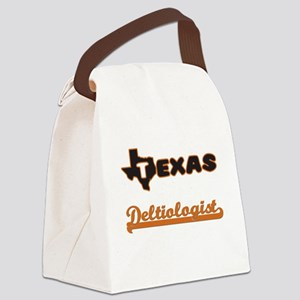 Texas Deltiologist Canvas Lunch Bag