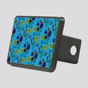 Ojibwe Flowers Rectangular Hitch Cover