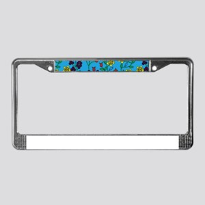 Ojibwe Flowers License Plate Frame