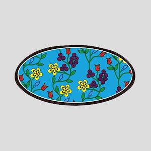 Ojibwe Flowers Patch