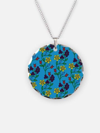 Ojibwe Flowers Necklace
