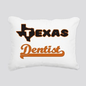 Texas Dentist Rectangular Canvas Pillow