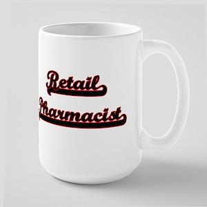 Retail Pharmacist Classic Job Design Mugs