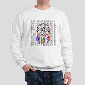 Dreamcatcher Rainbow Feathers Sweatshirt