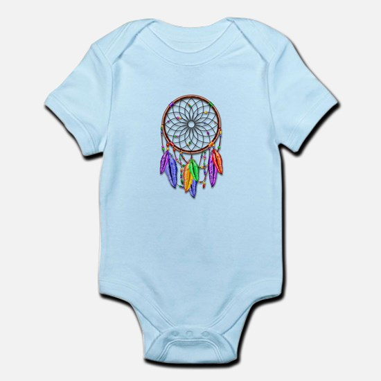Dreamcatcher Rainbow Feathers Body Suit