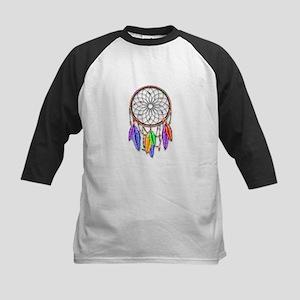 Dreamcatcher Rainbow Feathers Baseball Jersey