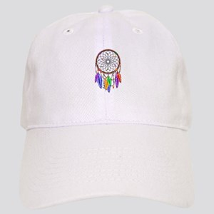 Dreamcatcher Rainbow Feathers Cap edcfb00f3eaf