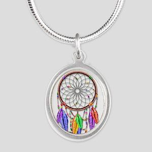 Dreamcatcher Rainbow Feathers Necklaces