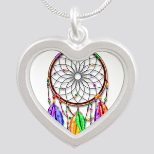 Dreamcatcher Rainbow Feathers Necklaces