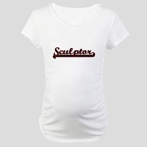 Sculptor Classic Job Design Maternity T-Shirt