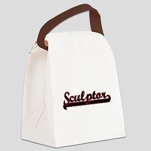 Sculptor Classic Job Design Canvas Lunch Bag