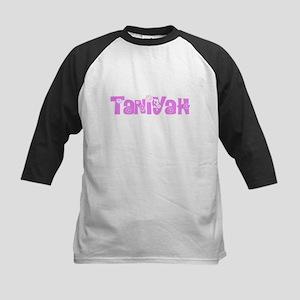 Taniyah Flower Design Baseball Jersey