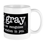 Namas'gray (black) Mugs