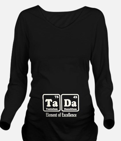 TaDa Long Sleeve Maternity T-Shirt
