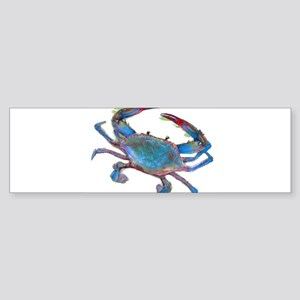 Chesapeake Bay Blue Crab Bumper Sticker