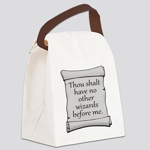 No Other Wizards Before Me Canvas Lunch Bag