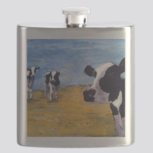 Cow World Flask