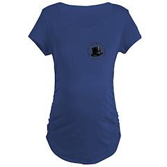 Hat Logo Maternity T-Shirt
