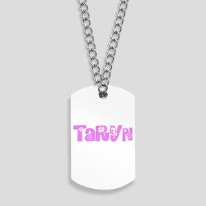 Taryn Flower Design Dog Tags