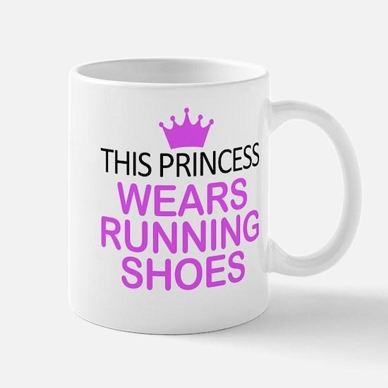 Running Shoes Princess Stainless Steel Travel Mugs