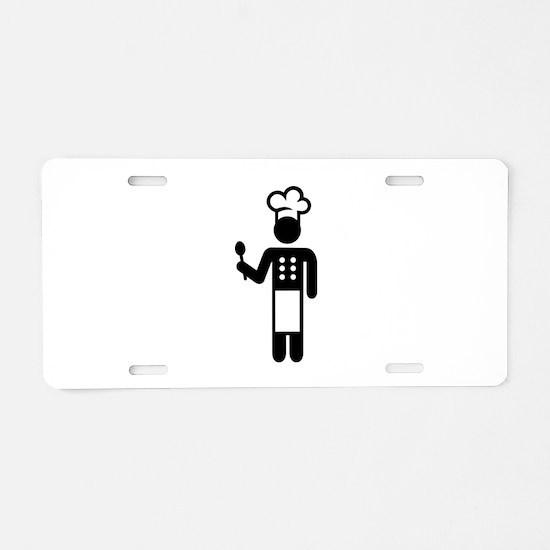 Chef cook Aluminum License Plate