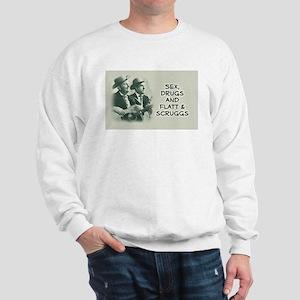 100% cotton sweatshirt for bluegrass music lovers