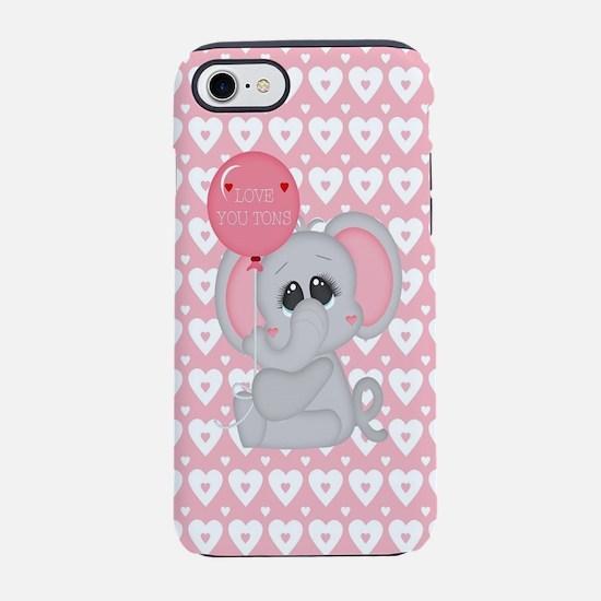 Love U Tons iPhone 7 Tough Case