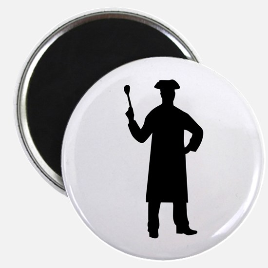 """Chef cook 2.25"""" Magnet (10 pack)"""