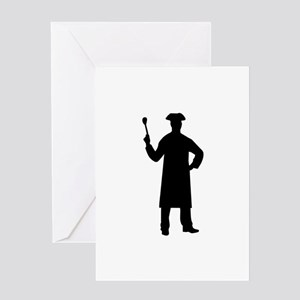 Chef cook Greeting Card