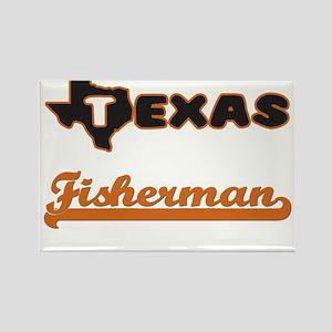Texas Fisherman Magnets